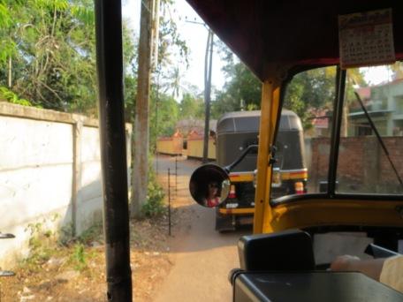 Auto rickshaw view