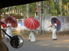 Procession in action