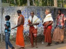 More procession participants
